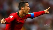 СЛЕД ОТПАДАНЕТО ОТ МОНДИАЛА! Роналдо благодари на португалските фенове