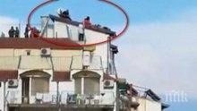 Поляк е туристът Спайдърмен, изправил на нокти полицията в Приморско