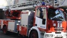 """ИЗВЪНРЕДНО В ПИК! Самолет падна в полето до магистрала """"Тракия""""! Линейки и пожарни са на мястото, няма жертви и ранени"""