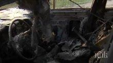 ОГНЕН АД! Шест коли за 80 000 лева изгоряха в подпалената автокъща в София (СНИМКИ)