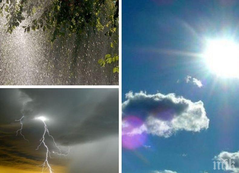 ВРЕМЕТО НЕ ОБЕЩАВА МНОГО: Петък ще е слънчев, а уикендът сърдит