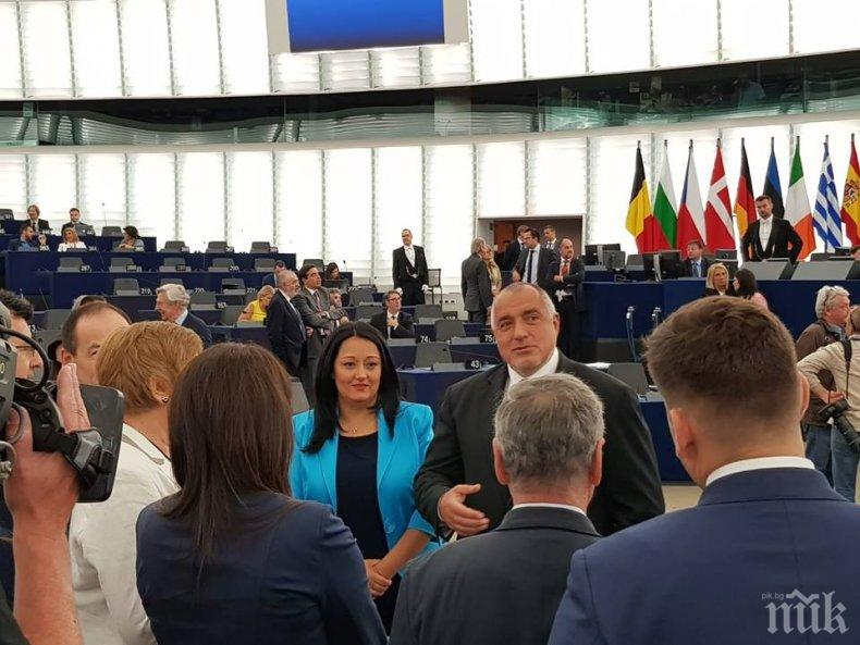 Всички политически сили в европарламента поздравиха България за успешното председателство
