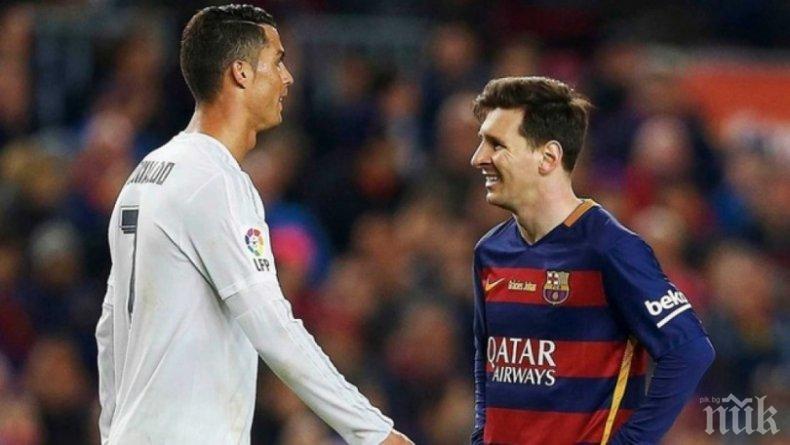 Кристиано и Меси не са футболисти, а рекламни продукти
