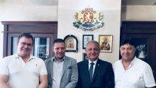 Областният управител на Софийска област Илиан Тодоров се срещна с израелски инвеститори