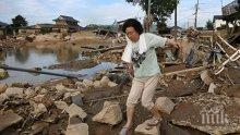 Жертвите на наводненията в Япония са вече 141