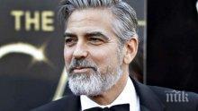 Джордж Клуни се претрепа с мотор на остров Сардиния