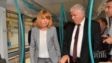 Фандъкова разкри предимствата на новите метро влакчета (СНИМКИ)