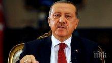 Ердоган: Турция е готова да гарантира със сила правата си за газовите сондажи в Кипър