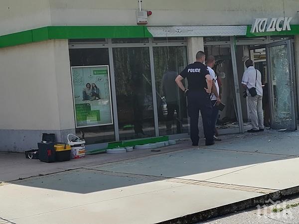 РАЗКРИТИЕ! Двама молдовци взривили банкомата в Пловдив