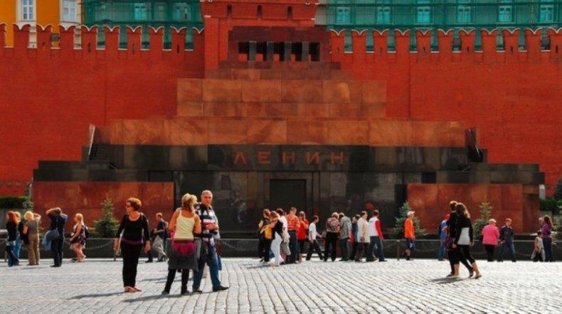 Москва печели от мавзолея, ние го сринахме