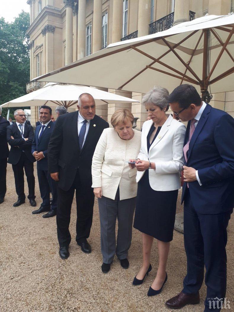Борисов в Лондон: Трябва да бъдем много единни в задачите по свързаността на Балканите (СНИМКИ)