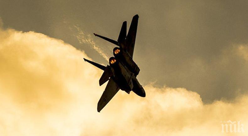 Израел е нанесъл ракетни удари по обекти на сирийската армия