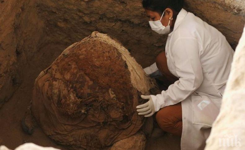 Археолози откриха голям погребален комплекс на инките в Перу