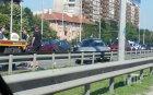 ПЪРВО В ПИК! Меле с три коли блокира Цариградско шосе (СНИМКИ)