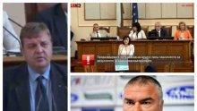 ИЗВЪНРЕДНО В ПИК TV! Каракачанов се подигра с БСП за изсмуканите от пръстите критики и посече Марешки за Султанките