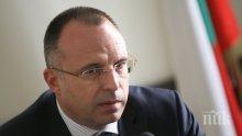 Министър Румен Порожанов ще посети засегнатите от болестта чума по дребните преживни животни общини