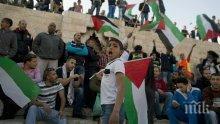Двама палестински тийнейджъри са убити при израелски въздушен удар