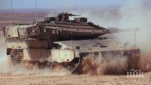 Израелски танк пресече границата с Йордания
