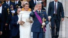 ТЪРЖЕСТВЕНО! Кралят на Белгия прие бронзовите медалисти от Мондиала