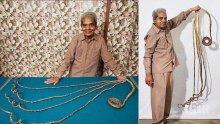 Човекът с най-дългите нокти в света си ги отряза