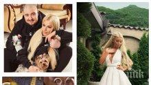 EКСКЛУЗИВНО В ПИК! Започна сватбата на Светлана и Християн Гущерови (СНИМКИ)