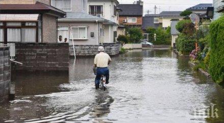 Оцениха щетите от наводненията в Япония на стотици милиони долара