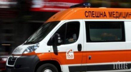 """Дете и мъж са пострадали при катастрофа на  автомагистрала """"Хемус"""""""