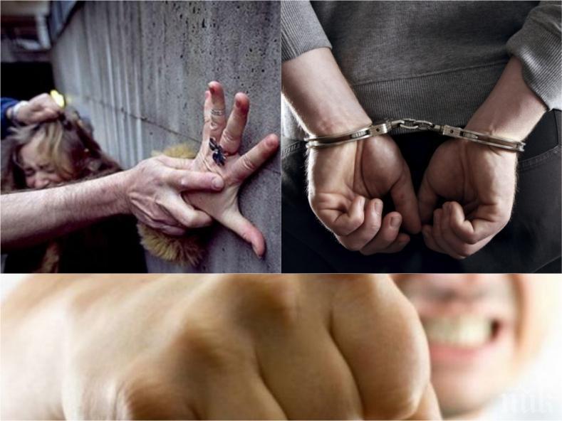 Мургав рецидивист с 20 присъди посегна на 19-годишна