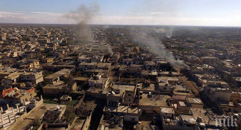 Сирийските бунтовници предадоха Дараа на правителството