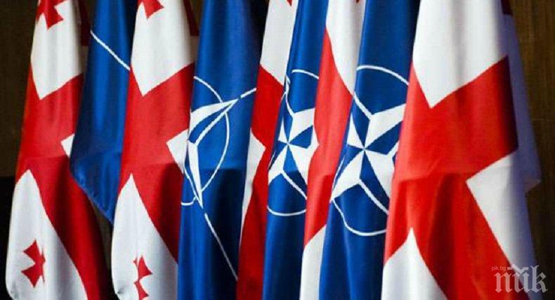 ПОТВЪРДЕНО! Грузия ще се присъедини към НАТО