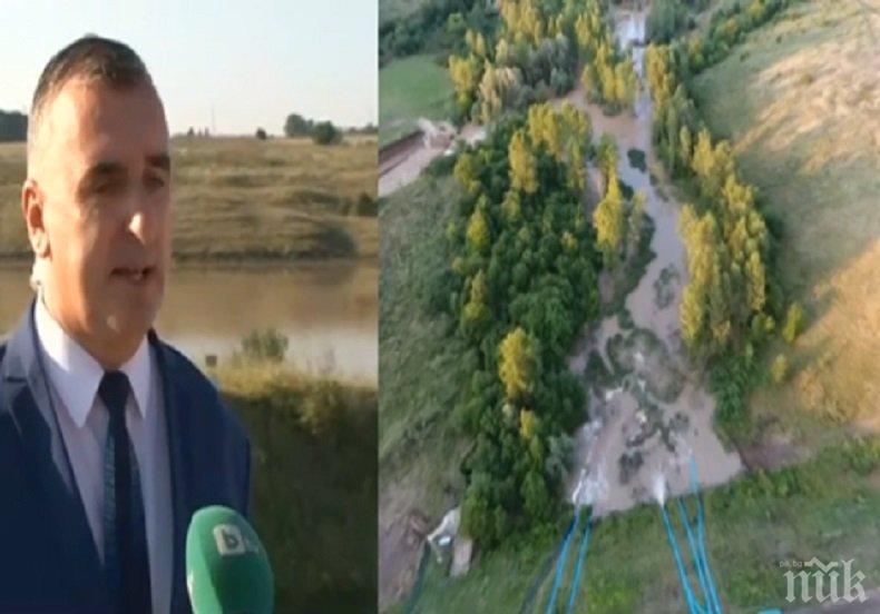 """ОБЕЩАНИЕ! Ремонтът на язовир """"Рогозен"""" приключва до края на август"""