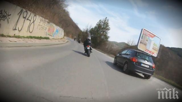 Тревожна тенденция: Зачестяват инцидентите с мотористи
