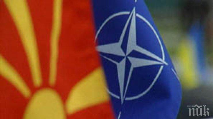 Македонската опозиция пали бунтове срещу влизането на страната в НАТО