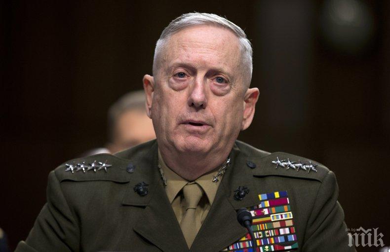 Военният министър на САЩ заминава за Загреб