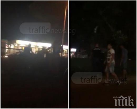 ЕКСКЛУЗИВНО! Страшно меле в Пловдив по тъмно! Поголовни арести след сигнал на 112