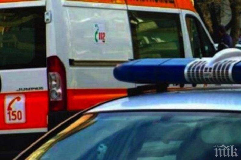ИЗДИРВАНЕ! Моторист блъсна пешеходка в Хасково и избяга
