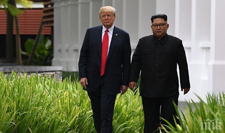Ким Чен-ун пратил писмо на Тръмп