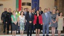 Лиляна Павлова награди ръководството на МВР за европредседателството