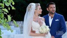РОМАНТИКА! Антония Петрова поля 1 месец от сватбата с гореща вана (СНИМКИ)