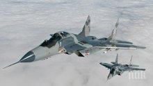 Беларус подарява чисто нови изтребители Миг-29 на Сърбия