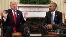 Доналд Тръмп: Барак Обама не предупреди за Русия преди изборите, защото цялата тази история е една голяма лъжа
