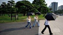 От началото на юли жегите в Япония са отнели живота на над 15 души