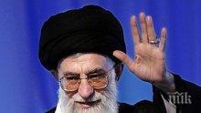 Аятолах Али Хаменей подкрепя затварянето на Ормузкия пролив като отговор на американските санкции