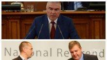 Марешки скочи да брани Сидеров - иска извинение от патриотите към нацията