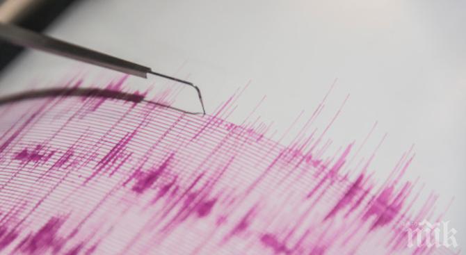 Трус с магнитуд 5.1 по Рихтер бе регистриран на Курилските острови