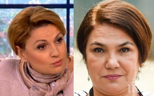 КАТО ДВЕ КАПКИ ВОДА: Ани Салич стана двойничка на Марта Вачкова
