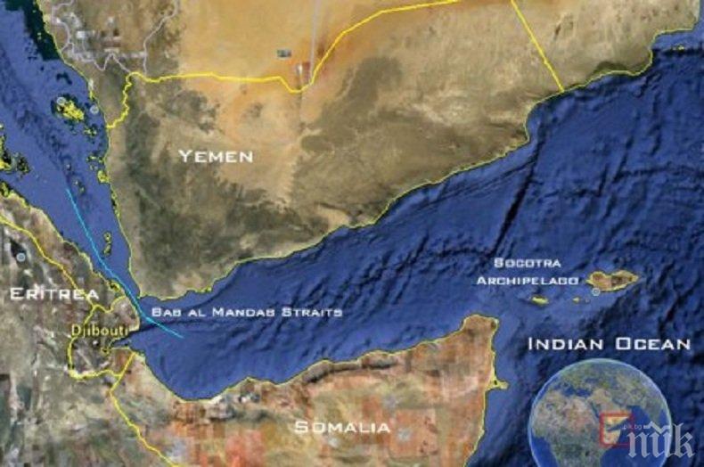 Саудитска Арабия възстановява доставките на петрол през протока Баб ел Мандеб