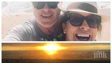 ЕКСКЛУЗИВНО В ПИК! Хубавото Наде чукна 56 на екзотичен плаж! Посланичката ни в Турция лети на крилете на любовта (СНИМКИ)