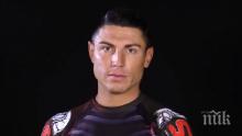 ШОК! Българският Роналдо рекламира маникюр