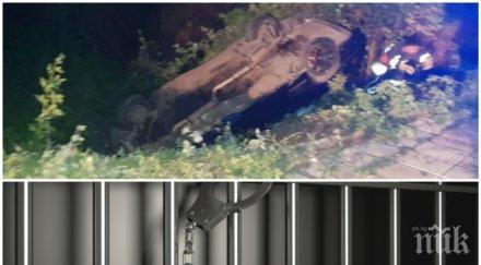 БЕЗ МИЛОСТ! Лоша новина за дрогирания шофьор, блъснал 6 момичета в Китен